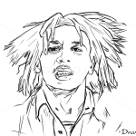 How to Draw Bob Marley, Celebrities