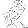 How to Draw Teen Vogue, 2013, Justin Bieber
