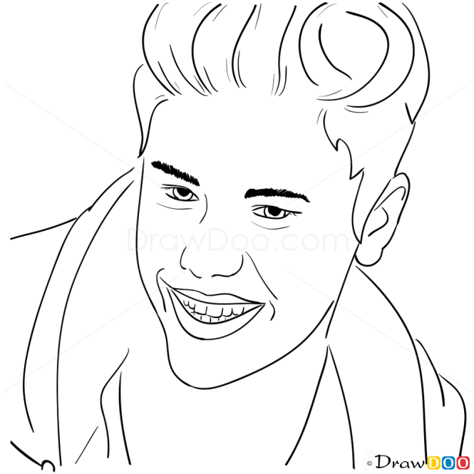 How to Draw Adidas Neo, 2013, Justin Bieber