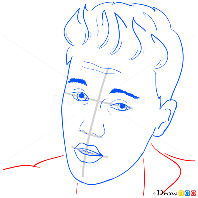 How to Draw Music Video, All That Matters, Justin Bieber