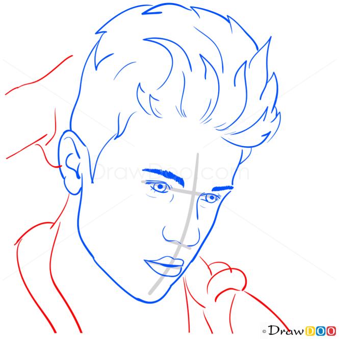 How to Draw Rolling Stone Magazine, 2012, Justin Bieber