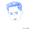 How to Draw American Music Awards, 2013, How to Draw Miley Cyrus