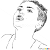 How to Draw Music Video, Wrecking Ball, How to Draw Miley Cyrus