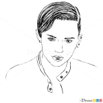 How to Draw Fashion, November 2013, How to Draw Miley Cyrus