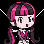How to Draw Dracula Girl 2, Chibi