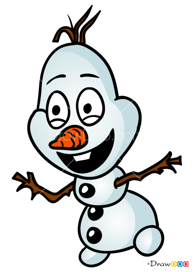 How to Draw Snowman, Chibi