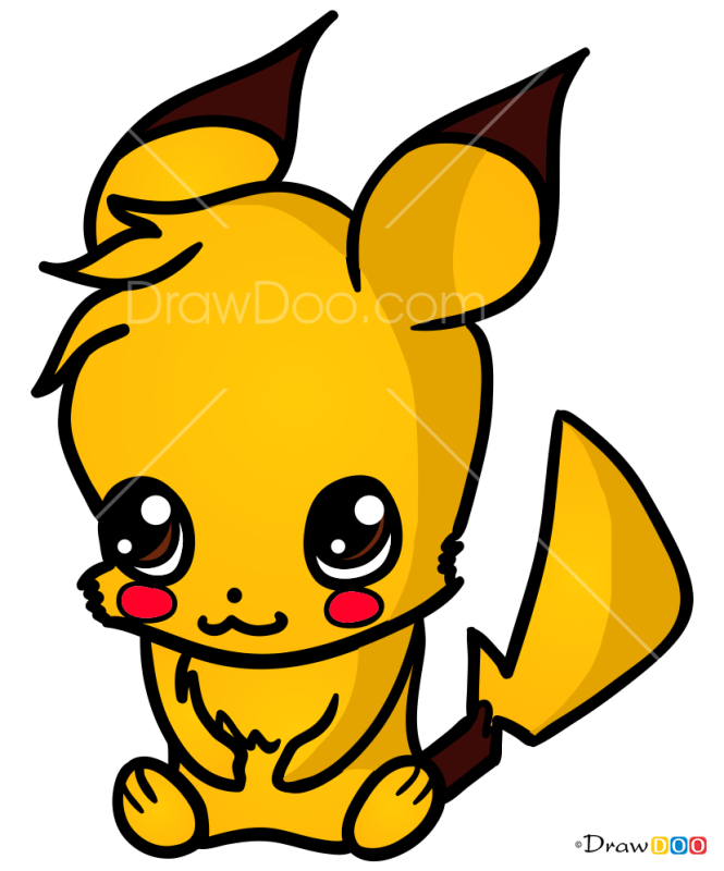 How to Draw Pocket monster, Chibi