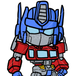 How to Draw Prime Robot, Chibi