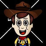 How to Draw Cowboy, Chibi