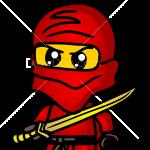 How to Draw Brick Ninja, Chibi