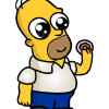 How to Draw Man with donut, Chibi