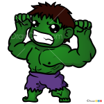 How to Draw Green Beast, Chibi