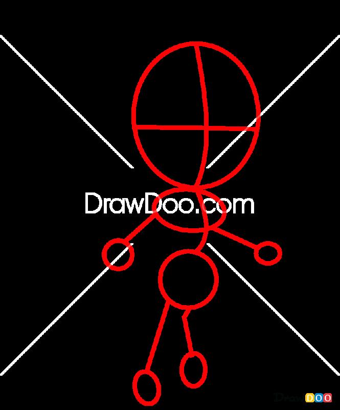 How to Draw Katarina, LOL Chibi