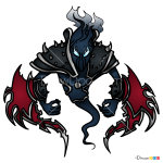 How to Draw Nocturne, LOL Chibi