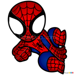 How to Draw Spiderman, Chibi Superheroes