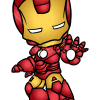 How to Draw Iron Man, Chibi Superheroes