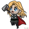 How to Draw Thor, Chibi Superheroes