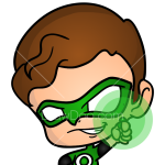 How to Draw The Green Lantern, Chibi Superheroes