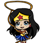 How to Draw Wonder Woman, Chibi Superheroes