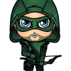 How to Draw Green Arrow, Chibi Superheroes