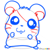 How to Draw Hamster, Chibi