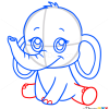How to Draw Elephant, Chibi