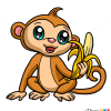 How to Draw Monkey, Chibi