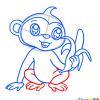How to Draw Monkey, Chibi