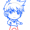 How to Draw Jack Frost, Chibi
