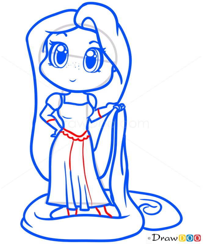 how to draw yoda chibi