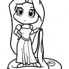 How to Draw Rapunzel, Chibi