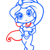 How to Draw Jasmine, Chibi