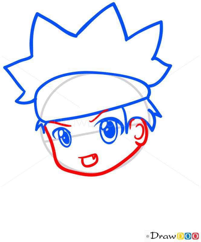 How to Draw Naruto, Chibi