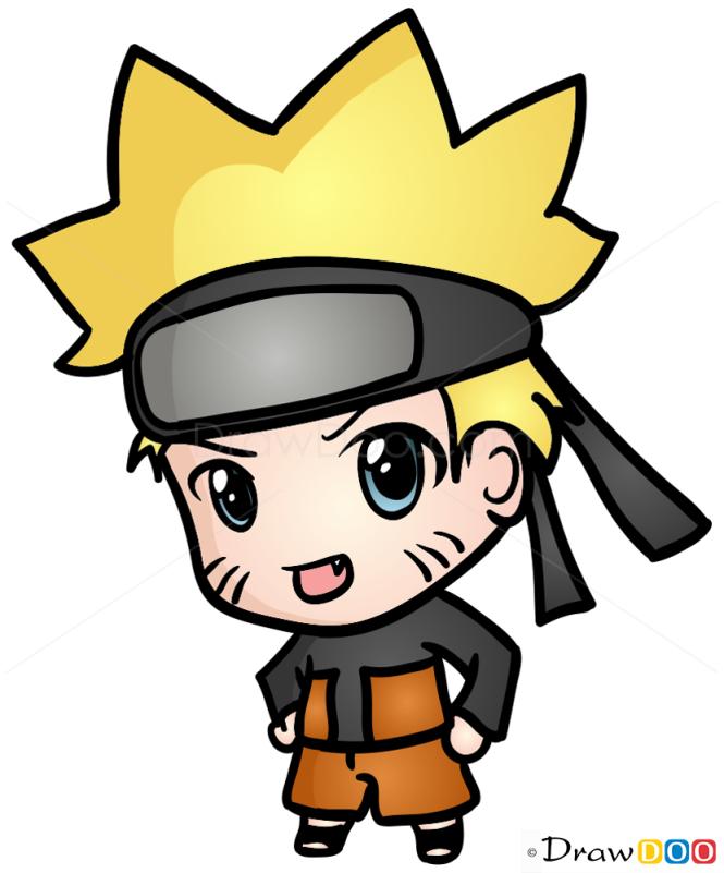 How To Draw Naruto Chibi January 26 2016