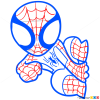 How to Draw Spider-Man, Chibi