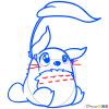 How to Draw Totoro, Chibi