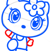 How to Draw Hello Kitty, Chibi