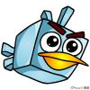 How to Draw Ice Bird, Chibi