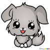 How to Draw Dog, Chibi