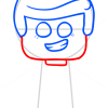 How to Draw Lego Emmet, Chibi
