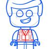 How to Draw Lego Emmet, Chibi