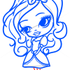 How to Draw Apple White, Chibi