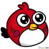 How to Draw Red Bird, Chibi