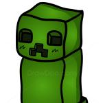 How to Draw Creeper, Chibi