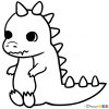 How to Draw Dino, Chibi