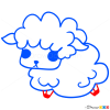 How to Draw Sheep, Chibi