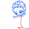 How to Draw Elsa, Chibi