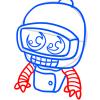 How to Draw Bender, Chibi