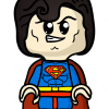Superman Chibi Drawing Draw Lego Superman Chibi