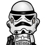 How to Draw Star Trooper, Chibi